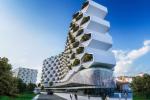 """Tòa nhà """"tổ ong"""" xanh mướt với thiết kế độc, lạ mắt"""