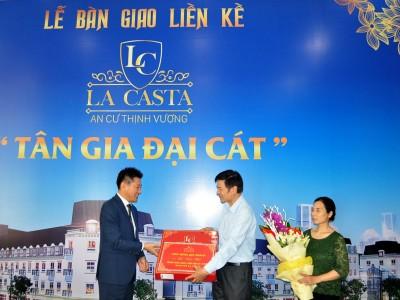 Dự án La Casta tiến hành bàn giao liền kề đúng theo tiến độ